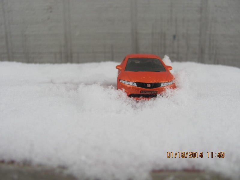Hot Wheels Snow Rally