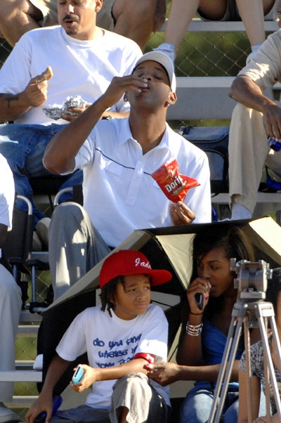 Will Smith Most Certainly Enjoys His Doritos!