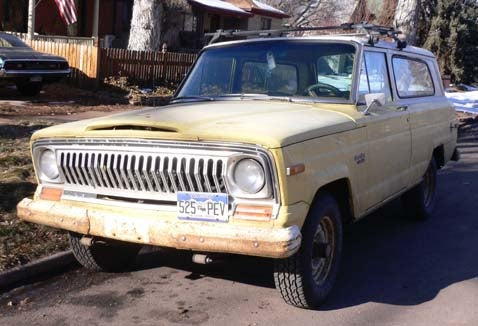 Mile-High Jeep Cherokee Laughs At Rust