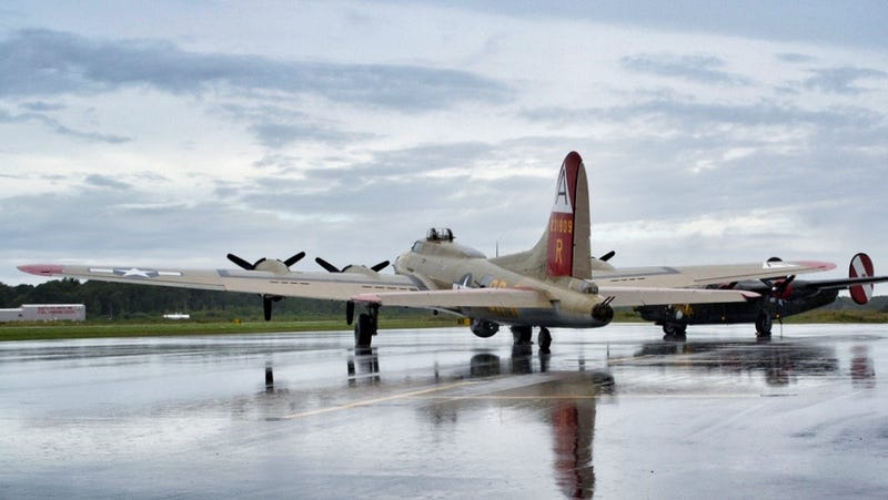 Bid To Take A WWII Bomber On A Four-Day Journey To England