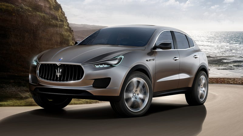 Maserati Kubang SUV is imported from Detroit
