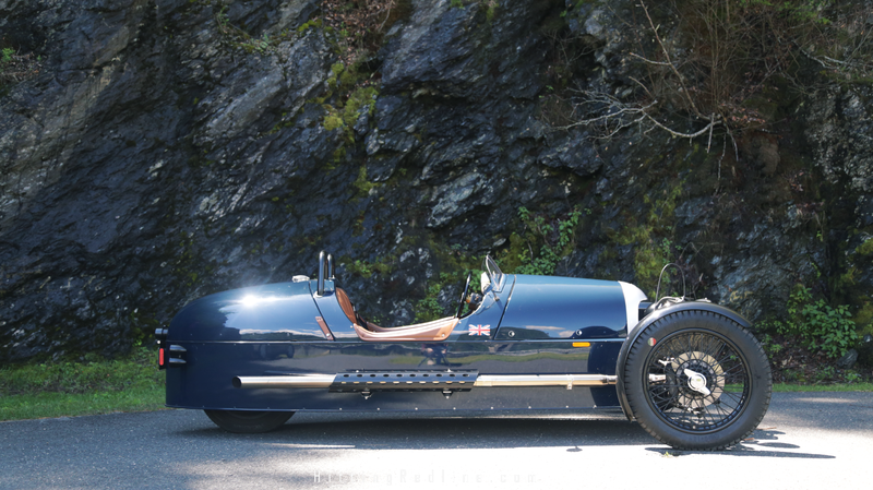 Its Own Set of Rules: The Morgan 3 Wheeler Experience [VIDEO]