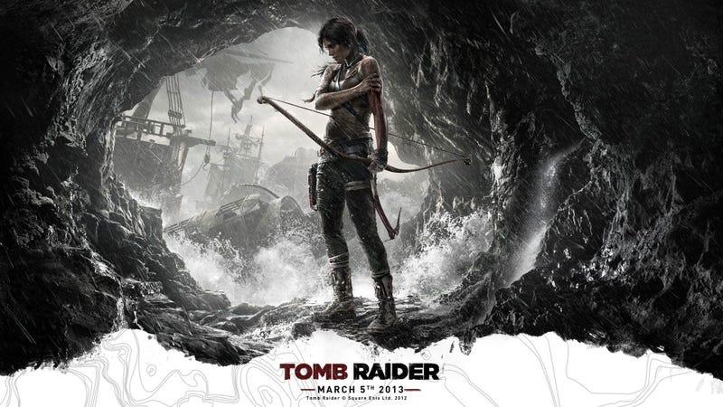 Tomb Raider's Box Art Resists The Obvious Temptation