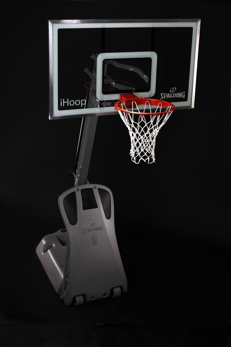 "Spalding's ""iHoop"" iPod-Compatible Basketball Hoop"
