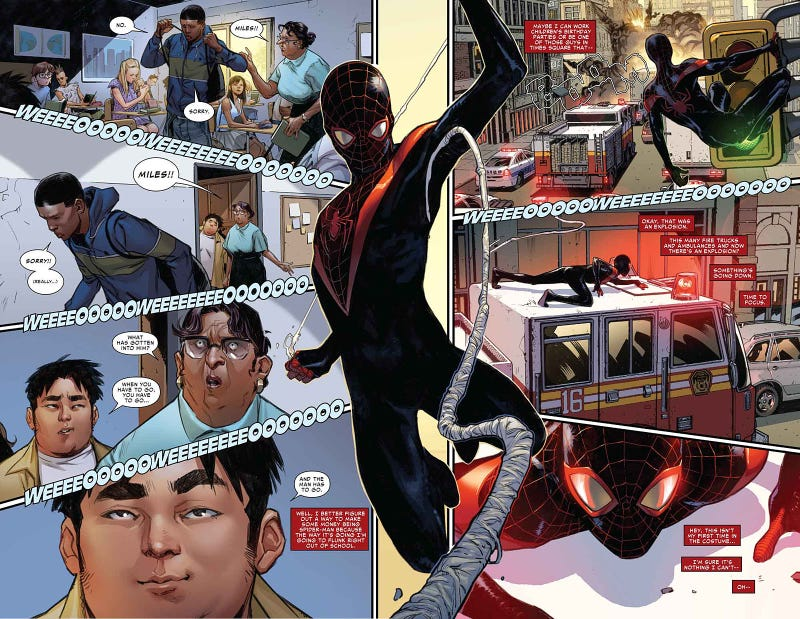 Brian Michael Bendis on the Evolution of Ultimate Spider-Man, Miles Morales