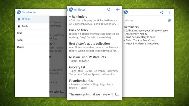 Simplenote Comes to Android, Offers Fast, Syncing Text Notes on the Go
