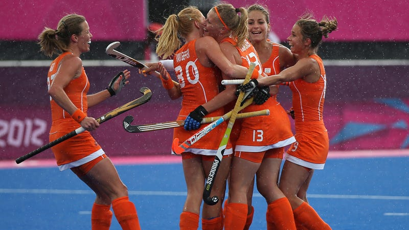 Internet Declares Olympic Viewers Furiously Masturbating to the Dutch Field Hockey Team