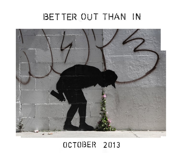 Hey, a New Banksy Thing