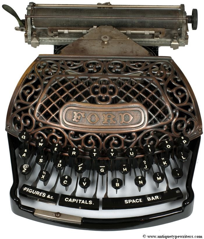 13 of the World's Oldest (and Most Beautiful) Typewriters