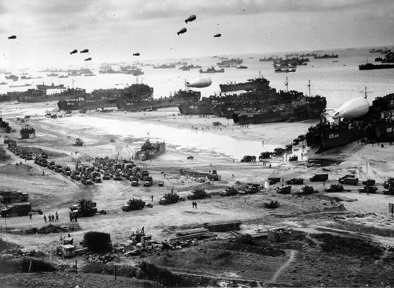 Beginning of the End: Scenes from the Allied Invasion of Europe