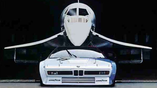 Concorde and M1, sitting in a tree