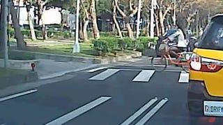 Motherfucking Reincarnated Houdini Motherfucker Survives Unbelievable Car Crash Like A Fucking Boss