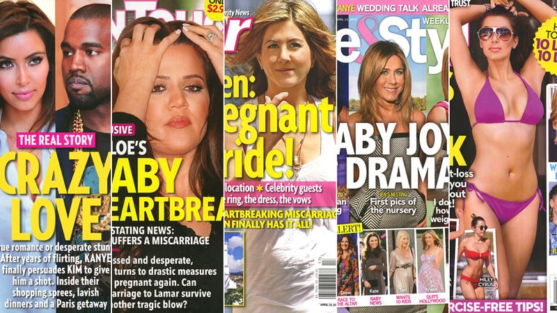 This Week In Tabloids: Jen Aniston's Big Fat Greek Wedding
