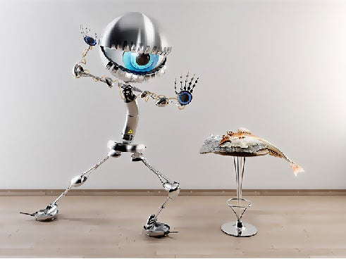 Power-Hungry Robot Takes What It Craves