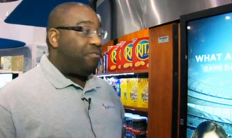 Vending Machine Scans Your Face and Chooses Food For You