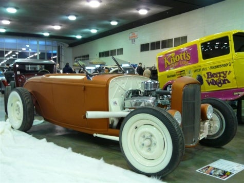 '32 Ford Hot Rod, Now in Creamsicle Flavor