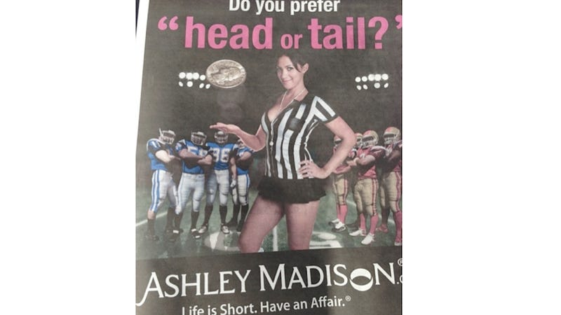 All Ashley Madison Could Afford for Super Bowl Advertising Is This Sleazy Newspaper Ad