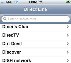 Direct Line Takes You Straight to an Operator