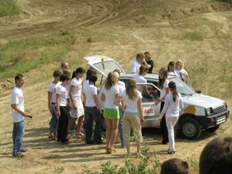 How Many Russian Girls Can You Fit In a VAZ-1111?