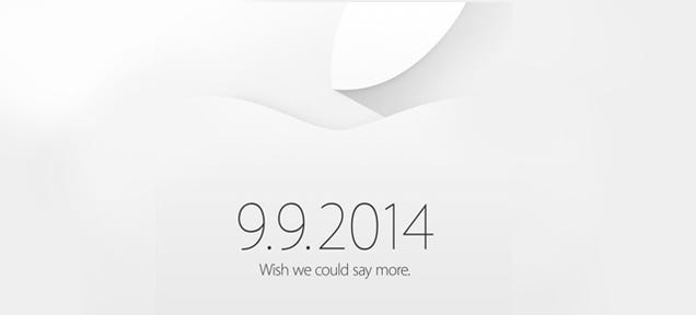 Apple's iPhone Event Will Be Sept 9th (And We'll Be There)