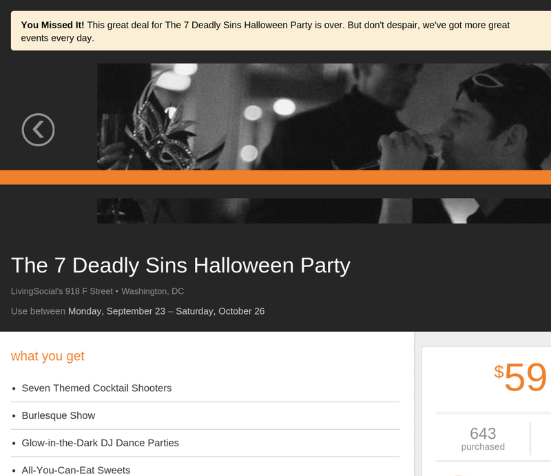 """LivingSocial Threw Halloween Party with Jewish-Themed """"Greed Room"""""""