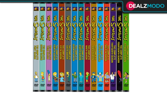 Simpsons DVDs Are Your Perfectly Cromulent Deal of the Day