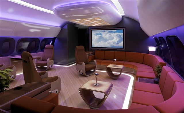 VIP Edition 787 Dreamliner Still Kicks Airbus' Butt With Style