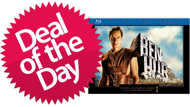 The Ben-Hur 50th Anniversary Collectors Edition Is Your Best Picture Movie That's Not Silent Deal of the Day