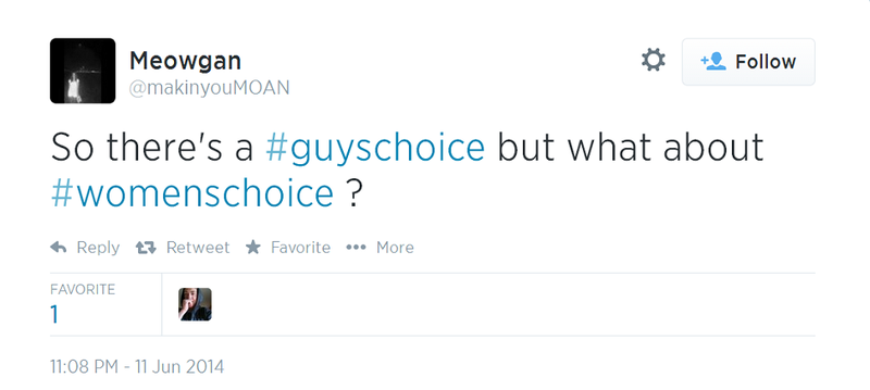 """""""#MeSoHorny"""" And Other Manly Responses to The Guys' Choice Awards"""