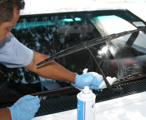 Install New Windshield Glass
