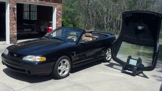 Neat, rare OEM removable hardtop SVT Mustang for sale