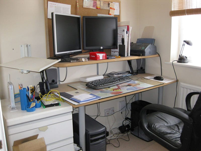 Messy to Managed: A Small Workspace Makeover - Gallery