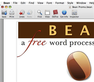 Lightning fast word processing with Bean