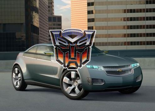 Chevy Volt To Become Transformer