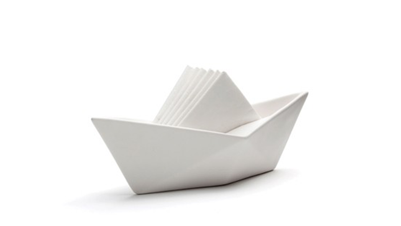 A Sailboat Napkin Holder Is the Most Clever Napkin Holder
