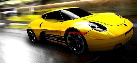Class Project: Porsche Carma Concept