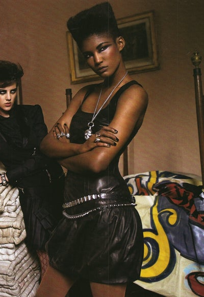 "Italian Vogue's ""All Black"" Issue: A Guided Tour"