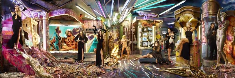 Kardashian Christmas Cardashian Sends Good Tidings from Hell