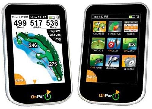 OnPar: GPS Rangefinder with iPhone Aesthetics