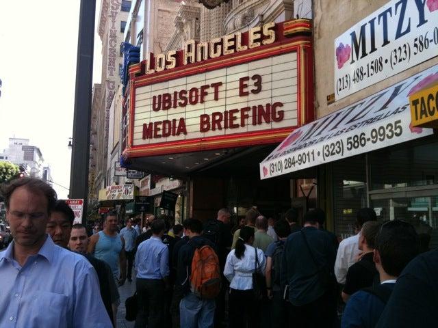 Ubisoft's 2010 E3 Press Conference LIVE