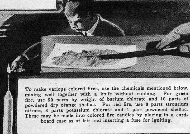 DIY Fireworks Instructions From the 1920s Were Ridiculously Unsafe