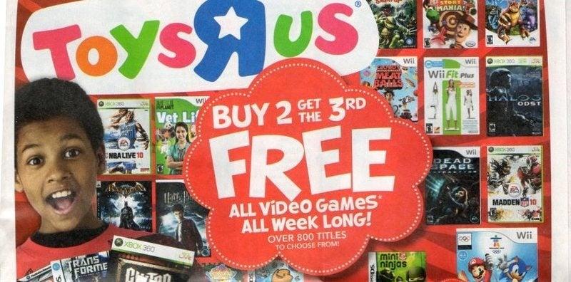 Toys R Us Begins Big 3:2 Sale Tomorrow