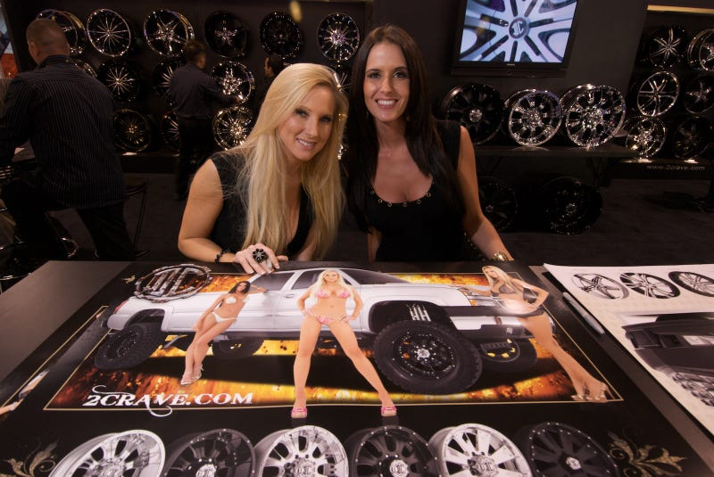 The Boob Babes Of SEMA 2009