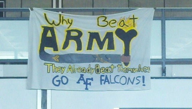 Service Academy Football Rivalries Are Just As Good For Dick Jokes