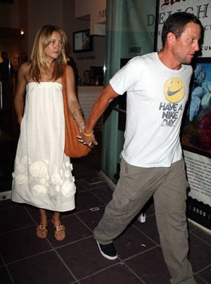 kate hudson and lance armstrong have broken up after three months    Kate Hudson And Lance Armstrong