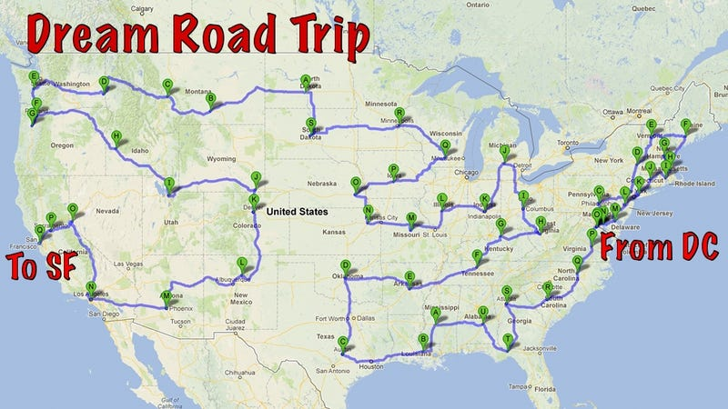 I quit my job to drive 13,500 miles and visit every state capital (except Alaska and Hawaii's).