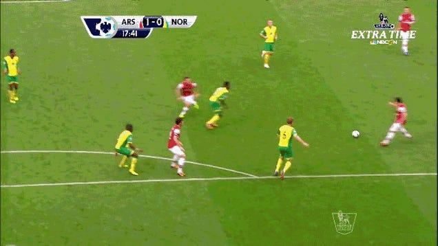 Arsenal Just Scored The Best Goal Of The Season So Far
