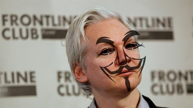 Wikileaks Becomes Anonymous' Publishing Arm with New Intelligence Firm Leak