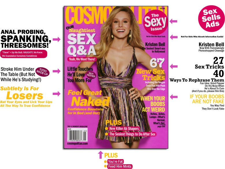 "Well Isn't The Cosmo""Sexy Issue"" Just A Sexy Breath Of Fresh Sexual Sexy Sex Air!"
