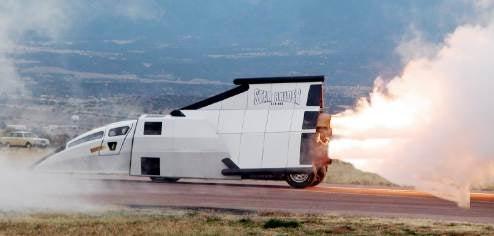 Star Raider Blasts Alien Scum With Jet Engines